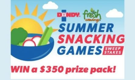 Dandy Summer Snacking Games Sweepstakes