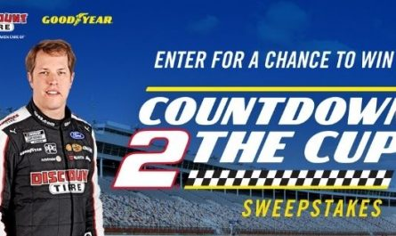 Goodyear Countdown To The Nascar Cup Sweepstakes