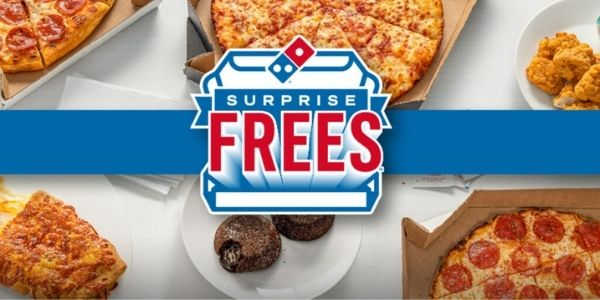 Dominos Surprise Frees Giveaway