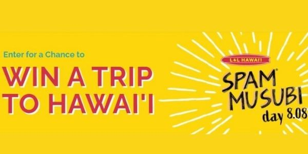 L And L Hawaii National Spam Musubi Day Sweepstakes