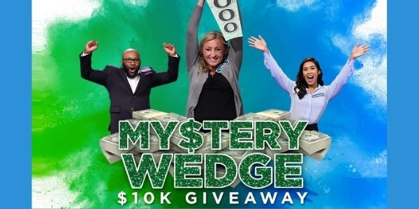 Wheel Off Or Tune My Stery Wedge Win $10K Giveaway