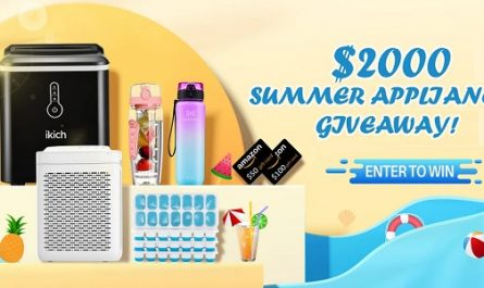Homasy Summer Home Appliances Giveaway